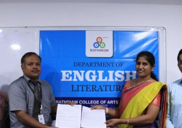 MOU with Rathinam College