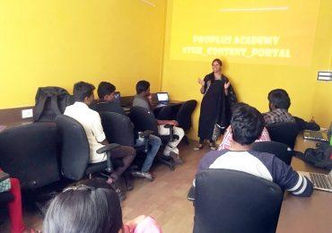 Workshop on Blogging